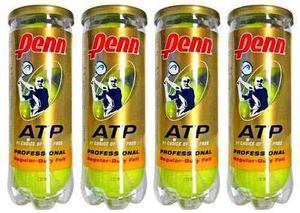 Tubo Penn Tenis 3 Pelotas Atp Gold Premium Profesionales