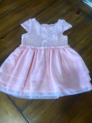 Vestido Osh Kosh de niña 12 meses importado