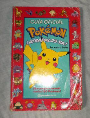 libro - guía oficial de pokemon