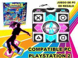 Alfombra De Baile Dance 2 Compatible Pc Playstation 1 - 2
