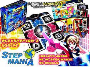Alfombra De Baile Playstation 2 Y Usb Pc Nuevas Rosario