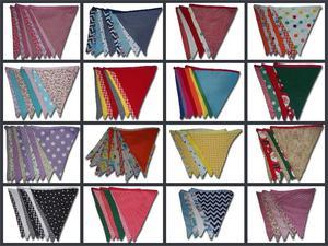 Banderines de tela para fiestas y eventos