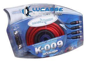 Kit De Cables Blauline Instalacion Potencia 4 Ga Gauge Anl