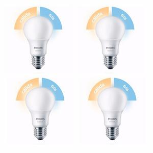 Lampara Led Philips Sceneswitch De Fria A Calida 9w Pack X4