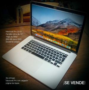 MacBook Pro Vendo (No permuto)