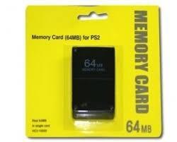Memory Card 64mb Para Play Station 2 Ps2