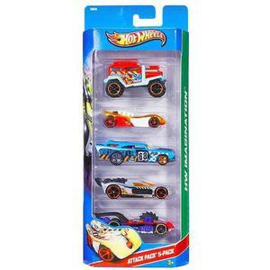 Pack X 5 Hot Wheels (varios Modelos)original Mattel Cordoba