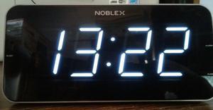 Radio Reloj Despertador Am/fm Led 1.8 Slim