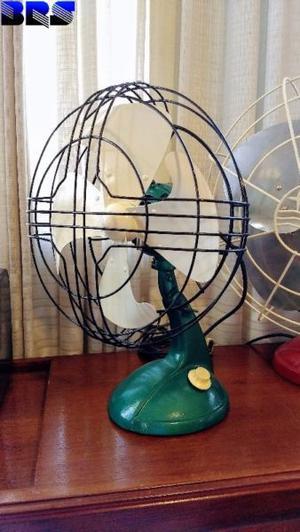 Ventilador Antiguo Dallavalle Daumas Restaurado