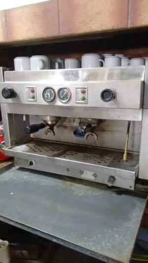 cafetera Rilo 2 bocas con motor+molinillo Rilo+ablanador de