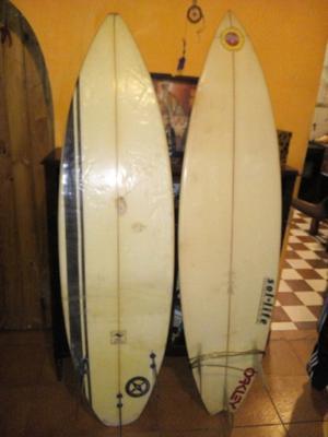 2 tablas de surf
