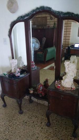 Antiguo muebles chippendale para dormitorio