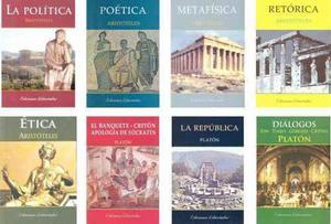 Aristóteles Platón X8 - Ética Política República Ap...