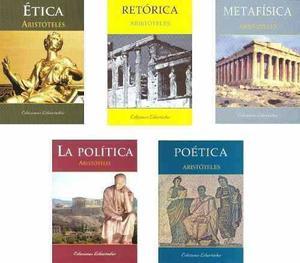 Aristóteles X5 - Ética Retórica Metafísica Política...