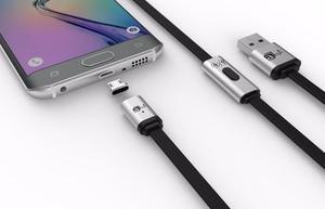 Cable Micro Usb Carga Rápida Magnético Reversible Premium