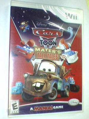 Cars Toon Mater's Tall Tales Wii Original Nuevo Fisico