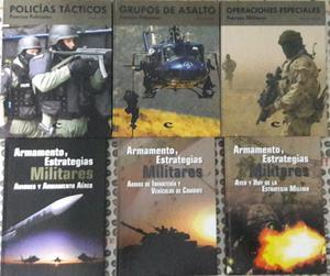 Colección de Libros Policías Tácticos