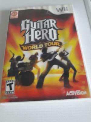 Juego Guitar Hero Wii World Rock Band