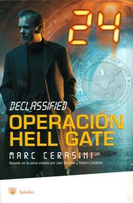 Libro: Operación Hell Gate, de Marc Cerasini [novela de