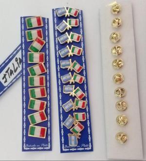 PINS BANDERA ITALIA DOS MODELOS DE 2 CMS