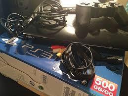 PS3 SUPERSLIM 500GB HDMI 2 JOYS 5 JUEGOS