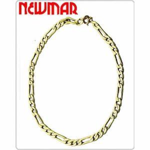 Pulsera 3y1 Oro Amarillo 18 K 21 Cm 1.6 Grs Hombre Mujer
