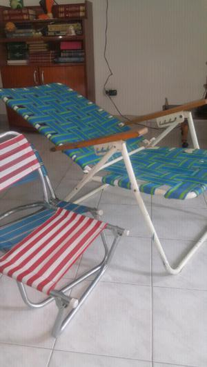 Sillon y sillitas para descansar