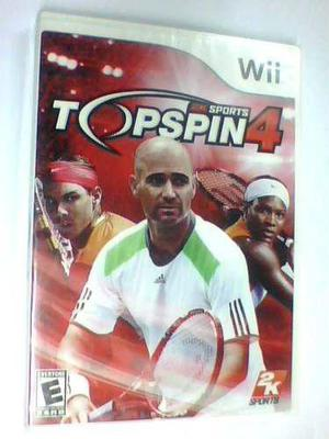 Topspin 4 Wii Original Nuevo Caja Sellada Fisico