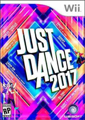 Wii Games Just Dance 2017/ Nuevo (físico) - Original!!!