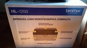 vendo impresora laser brother hl- nueva en caja a
