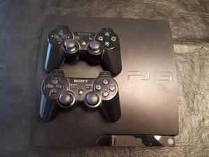 Consola Playstation 3 + Dos Controles + 5 Juegos Físicos