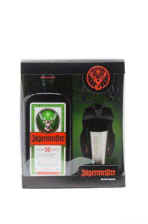 Jägermeister Pack 700ml + Imán Con Shot Para Heladera!!!