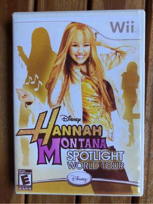 Juego De Wii De Hannah Montana