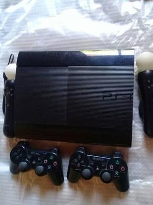 Play S 3 - 250 Gb - 2 Joysticks/2moves- 10 Juegos Digitales