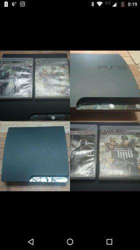 Playstation 3 + 2 Juegos Físicos + Kit Movie (sin Uso)