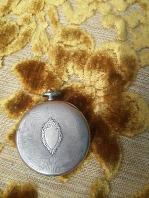 Reloj de bolsillo de plata 900 de 2 tapas $3.500