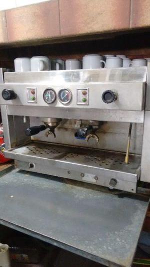 cafetera Rilo 2 bocas con motor molinillo Rilo ablanador de
