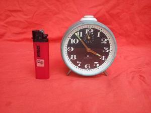 Antiguo Reloj Despertador A Cuerda Junghans Funciona,rdmn