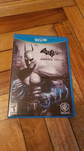 Juego Batman Arkham City - Nintendo Wii U Formato Físico