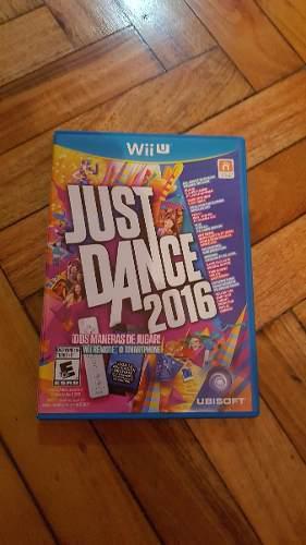 Juego Just Dance 2016 Para Nintendo Wii U - Formato Físico