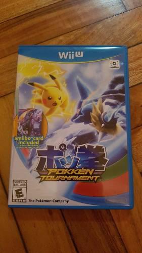 Juego Pokken Tournament Para Nintendo Wii U - Formato