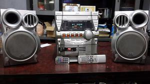 Líquido equipo jvc con USB BLUETOOTH CDS