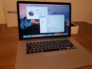 Macbook Pro 15 Retina I7 2.2ghz Mid 2015