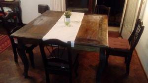 Vendo sillas mesa y sillon chippendale de posot class for Oferta comedor completo