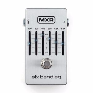 Pedal Ecualizador De Guitarra Mxr M109 S Sixband Eq