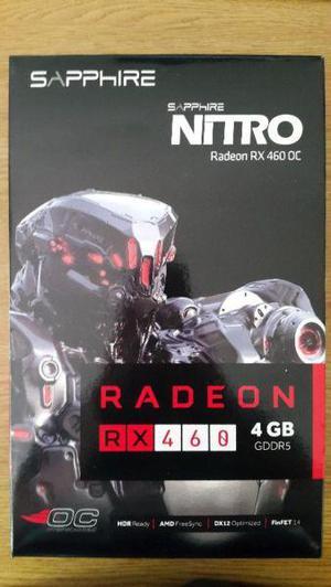 Placa de video Sapphire Nitro Radeon Rx 460 4gb Ddr5 - Poco