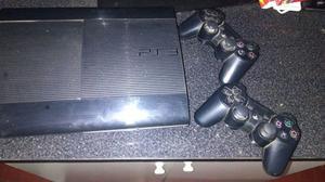 Playstation-3 con 6 juegos y 2 joystick