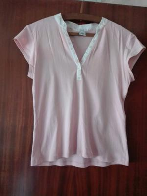 Remera Rosa Pastel OLD NAVY T.L