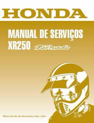 Srdespiece - Manual Taller Y Despiece Honda Xr 250 Tornado