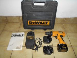Taladro atornillador a bateria DeWalt 12V agujereadora